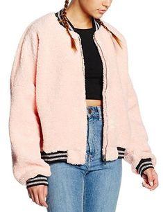 Pink teddy bear coat Fluffy Bomber Jacket JadedLondon Size 10 12 Thick Fleece | Clothes, Shoes & Accessories, Women's Clothing, Coats & Jackets | eBay!