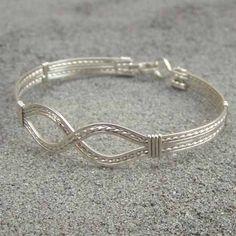 wire wrapped bracelet - Google Search