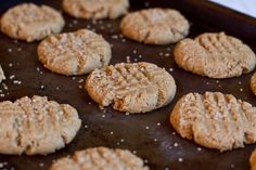 Auntie Angie's Soft Peanut Butter Cookies Recipe Daniel plan style!