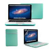 GMYLE(R) 4 in 1 Robin Egg Blue Turquoise Rubberized (Rubber Coated) Hard Case Cover for inches Macbook Pro - with Robin Egg Blue Turquoise Soft Sleeve Bag and Silicon Keyboard Protector - 13 inches Clear LCD Screen Protector - (not fit for 13 Macbook Iphone Macbook, Macbook Pro 13 Case, Macbook Air 13 Inch, Keyboard Cover, Computer Bags, Computer Accessories, Screen Protector, Black Friday, Robin
