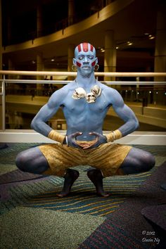 cosplayingwhileblack:    X  Character: Dhalsim  Series: Street Fighter