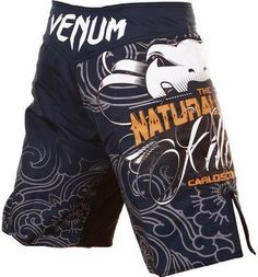 "Venum Natural Born Killer Fightshorts-Blue-Small Venum. $61.95. Lightweight microfiber constructionFlex stretch system at crotch for unrestricted mobilityVelcro resistant drawstring and Velcro closureSide slitsSizes translate to: XS (30""), S (31/32""), M, (33""), L (34/35""), XL (36/37""), XXL (38"")"