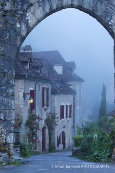 'Heaven's Gate' in Saint Cirq Lapopie ~ Lot Valley, Midi-Pyrenees, France • Brian Jannsen Photography