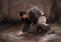 Kenshin: I won't draw... by amie689.deviantart.com on @DeviantArt