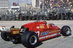 1981 Gilles Villeneuve Ferrari Long Beach