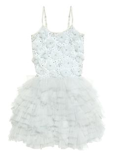 Dreamer tutu dress - frost