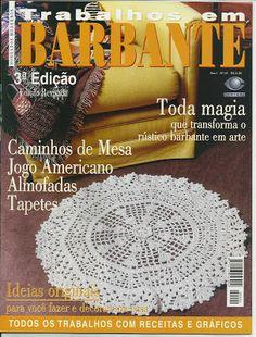 Josi Artesanatos: Revistas Trabalhos em Barbante 01