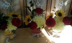 R. Imgrund DIY flower arrangement in vase