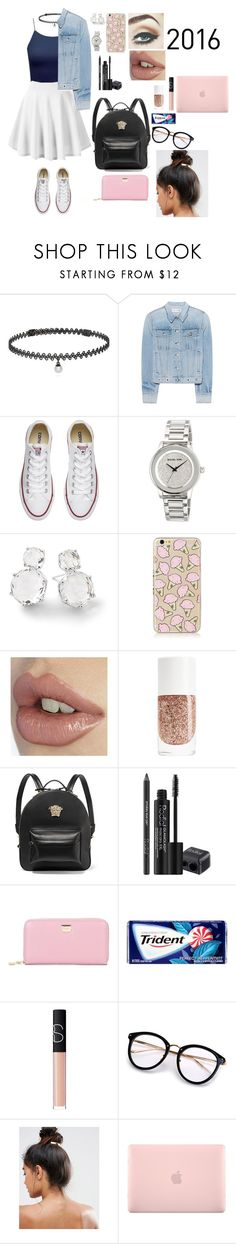 """Untitled #544"" by qwert123456 ❤ liked on Polyvore featuring BERRICLE, rag & bone, Converse, MICHAEL Michael Kors, Ippolita, Versace, Rodial, Dolce&Gabbana, NARS Cosmetics and Kitsch"