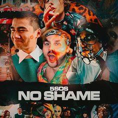 michael clifford no shame - BúsquedadeGoogle Michael Clifford, Hannah Lux Davis, 5sos Concert, 5 Seconds Of Summer, Deadpool Videos, Music Videos, Movie Posters, Aussies, Wallpapers