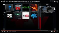 XBMC / Kodi TV 5 Best Addons for Live TV, Live Sports & PPV