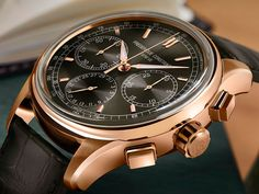 Frederique Constant launches their new column wheel based flyback chronograph. Flyback Chronograph Manufacture, produced in-house with a few design options to choose from: http://www.ablogtowatch.com/frederique-constant-flyback-chronograph-manufacture-watch/