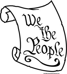 We the People of the United States Clip Art
