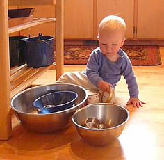 good montessori activities for 1-2yrs old