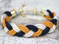 Turks Head Knot Rope Bracelet from Kiel James Patrick, Rhode Island  I love this!  $40