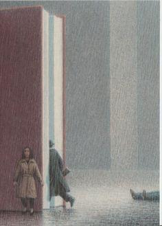 """""""Erzählung im Regen"""" drawn by Quint Buchholz"""