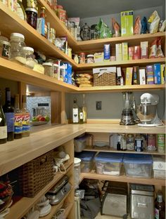 Nothing like an organized pantry.