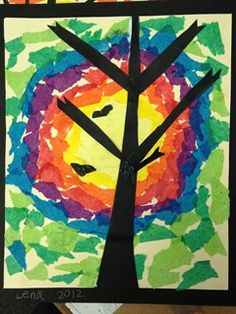 Artsonia Art Gallery - Silhoutte Tree