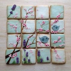 Wow, like a puzzle, these would be incredible to serve.