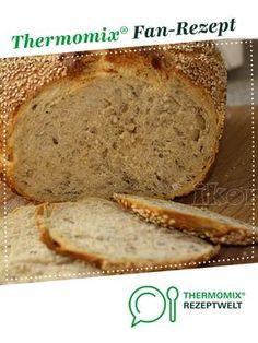 Delikatessbrot Delicious bread from Kiwi's Nest. A Thermomix ® recipe from the Bread & Buns category www.de, the Thermomix ® community. Banana Recipes, Jam Recipes, Sweet Recipes, Dessert Recipes, Desserts, Bread Recipes, Pampered Chef, Kiwi, Bread Bun