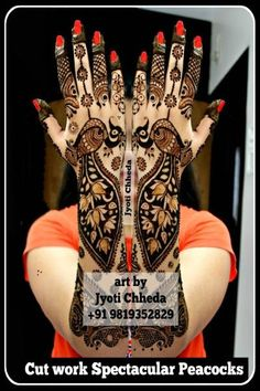 64 Latest Peacock Mehndi Design to try in 2018 for hands and feet - Wedandbeyond Peacock Mehndi Designs, Mehndi Desing, Stylish Mehndi Designs, Mehndi Patterns, Wedding Mehndi Designs, Best Mehndi Designs, Beautiful Mehndi Design, Mehndi Art, Henna Mehndi