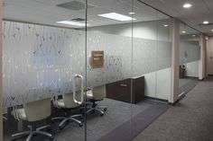 Interior signage and environmental graphics for law firm.