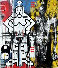 "Saatchi Art Artist Zsolt Gyarmati; Painting, ""Coldfusion"" #art"