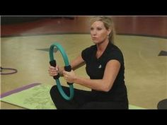 Pilates Exercises : Pilates Ring Workouts