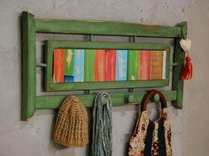 Manualidades y Artesanías | Recibidor con respaldo | Utilisima.com