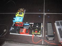 Scott Henderson's rig with the SH Volume Pedal prototype