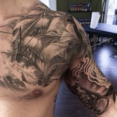 Off the Map Tattoo : Tattoos : Remis Tattoo : Pirate Tattoo