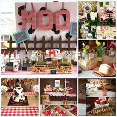 Farm Birthday Party Inspiration..super cute idea for the lil country girl ;)