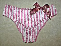 VINTAGE ADULT SISSY Pink Nylon Tricot Panties Large Mushroom Double Gusset - $28.50 | PicClick Nylons, Wholesale Lingerie, Large Mushroom, Granny Panties, Bikinis, Swimwear, Stuffed Mushrooms, Pink, Vintage