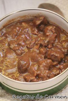 rezetas de carmen: Carrilleras al vino tinto en crock pot Recetas Crock Pot, Flan, Slow Cooker Recipes, Instant Pot, Crockpot, Vegetables, Minimalist Bedroom, Salads, Crock Pot Recipes