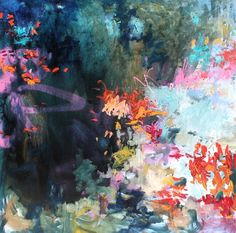 You're Beautiful by Amy Donaldson #art #paintings #abstract