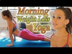 ▶ Morning Yoga For Weight Loss - 20 Minute Workout Fat Burning Yoga Meltdown Beginner  Intermediate - YouTube