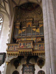 Nördlingen - St. Georgskirche (Seitenorgel) Pipe Organ