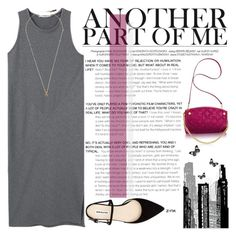 """""""In The Mood For Pink"""" by poppynight ❤ liked on Polyvore featuring MANGO, RoomMates Decor, Venessa Arizaga, SantaMonica, pinkclutch, Mangodress, inthemoofforpink and metalribbeddress"""