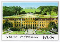Schloss Schönbrunn in Austria