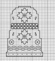 Image result for blackwork charts thimbles
