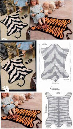 Вязаные коврики для детской...♥ Deniz ♥