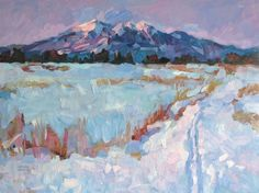 Winter Dream by Larisa Aukon Oil ~ 18 x 24