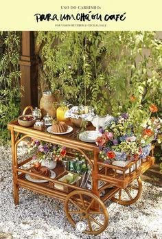 Do chá à sobremesa, móvel multifuncional traz charme e praticidade