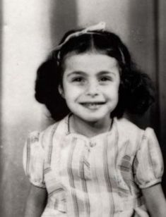A photo of Claude Eva Marcovici. Claude was sadly murdered at Auschwitz Death Camp on June 1944 at age First Color Photograph, Book Burning, Captain Corellis Mandolin, Innocent Child, History Images, Young Life, Lest We Forget, Losing A Child, Children