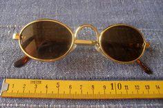 1 braun goldfarbene Sonnenbrille Nr.126 Brille Mode
