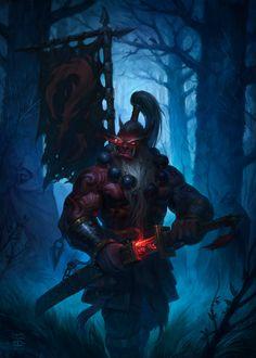 World of Warcraft Warcraft Heroes, Warcraft Characters, Warcraft 3, Dnd Characters, World Of Warcraft, Fantasy Characters, Fantasy Warrior, Fantasy Rpg, Dark Fantasy