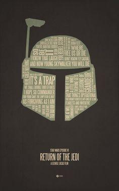 Typographic Movie Posters - Randommization