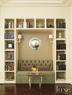 Transitional reading nook -- neutral