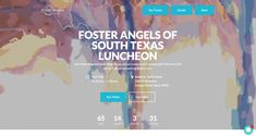 Foster Angels of South Texas Luncheon Fundraising Page, Fundraising Websites, Company Signage, Donation Page, Event Signage, Change Maker, South Texas, Buy Tickets