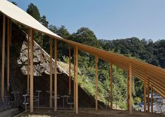 Roof and Mushrooms pavilion / Nendo and Ryue Nishizawa